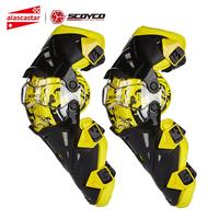 Scoyco Motorcycle Knee Pad Men Protective Gear Knee Gurad Knee Protector Rodiller Equipment Gear Motocross Joelheira Moto #