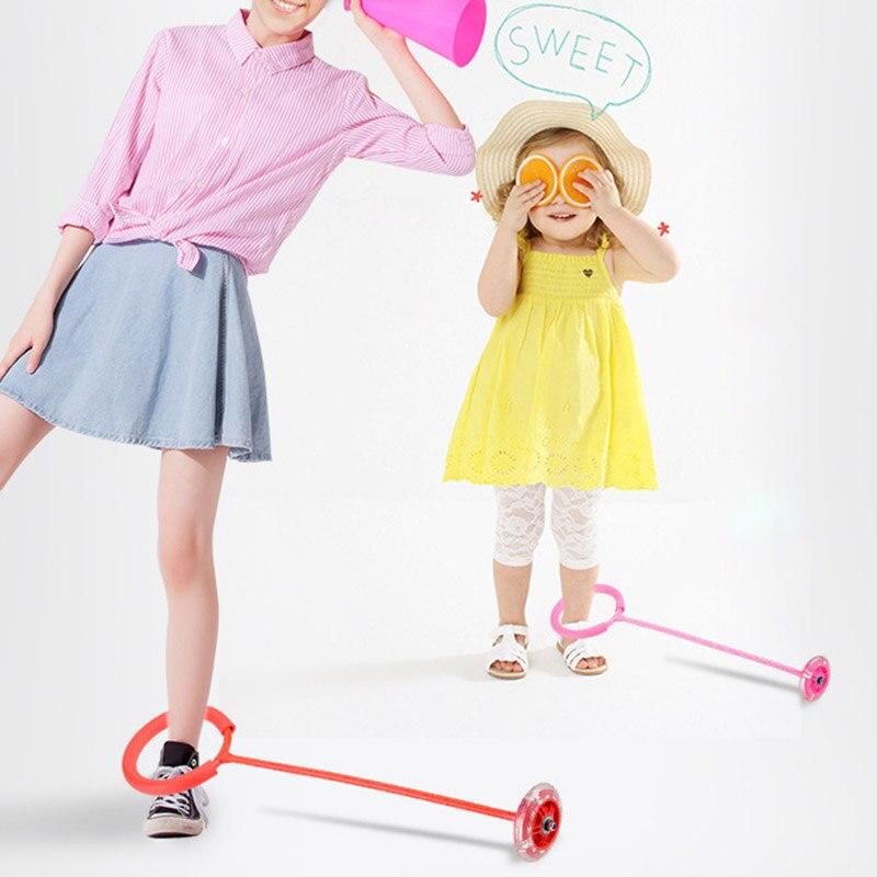 Swing Ball Springseil Ring Sport Spielzeug Rope Spielzeug LED Gift Jump Chel