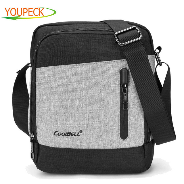 096774e52d CoolBell Slim Nylon Fabric Tote Portable Laptop Shoulder Bag Carrying Case  Messenger Bag for IPad Pro 9.7 10 10.1 inch Tablet