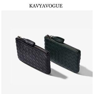 Image 4 - KAVYAVOGUE חדש כבש ארנק נשים מטבעות ארנק קטן ארנק נשים 2020 עור אמיתי תיק מפתח ארגונית