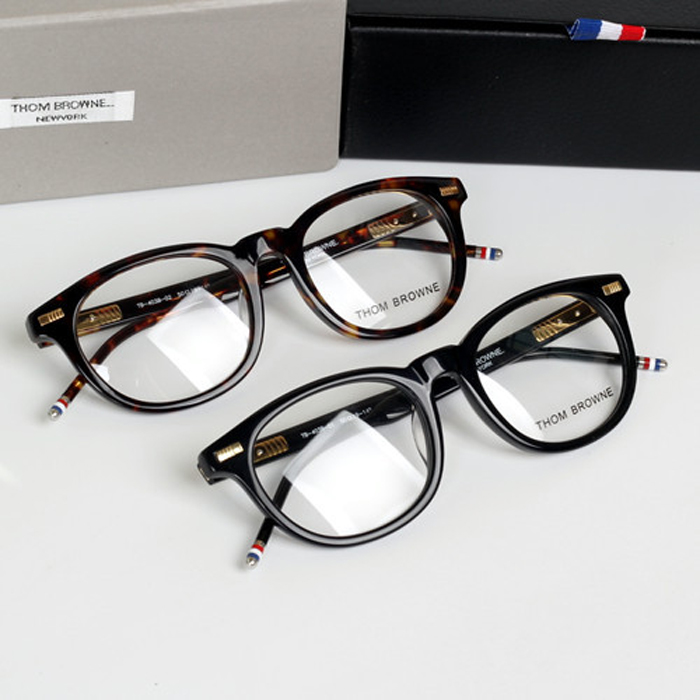 New York Brand Thom Vintage round Eyeglasses Frames glasses men and font b women b font