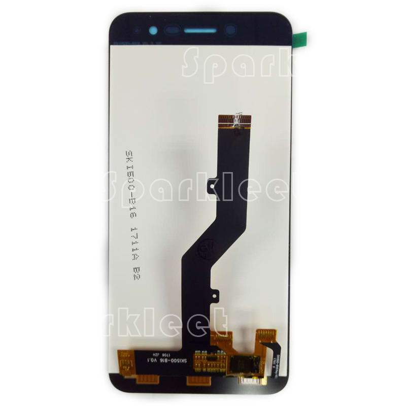 Black 5 inch LCD Replacement For <font><b>ZTE</b></font> <font><b>Blade</b></font> <font><b>A520</b></font> LCD Display Touch <font><b>Screen</b></font> Digitizer Assembly Repair Parts For <font><b>Blade</b></font> <font><b>A520</b></font> LCD image