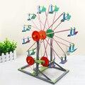 1 Компл. Развивающие детские DIY 3D Колесо Обозрения Деревянные Головоломки Модель здания Ремесленного ребенка детский Творческий Игрушки Подарки