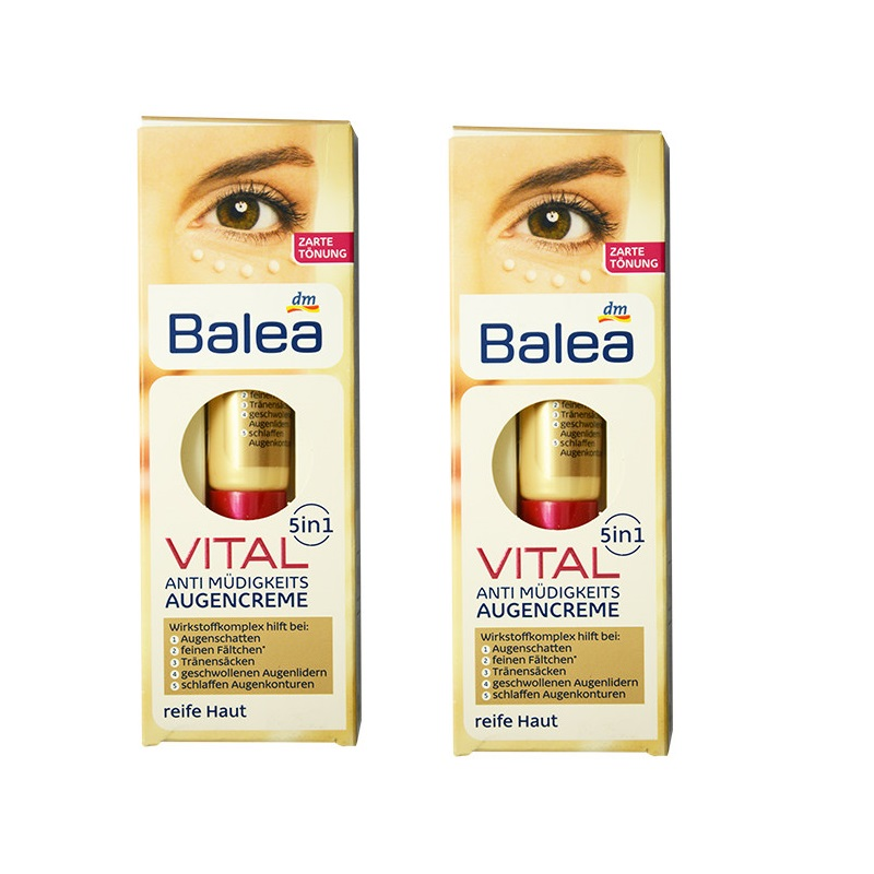 2PCS Germany Balea 5in1 Anti-fatigue Anti aging Anti Wrinkle Eye Cream Softens swollen eyelids Fight swelling dark circles виниловые пластинки patti smith live in germany 1979 180 gram