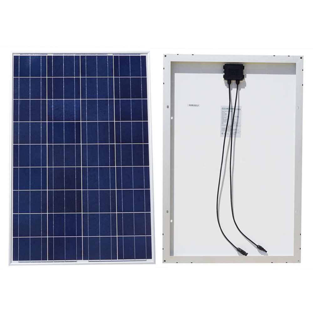 NEW 100W 18V Polycrystalline Silicon Solar Panel for Car 12v Battery Charger Off Grid System Photovoltaic Poly Solar Panel 300w solar panel kit 3 x 100w poly solar panel advanced rv solar charger for 12v battery off grid solar system for home