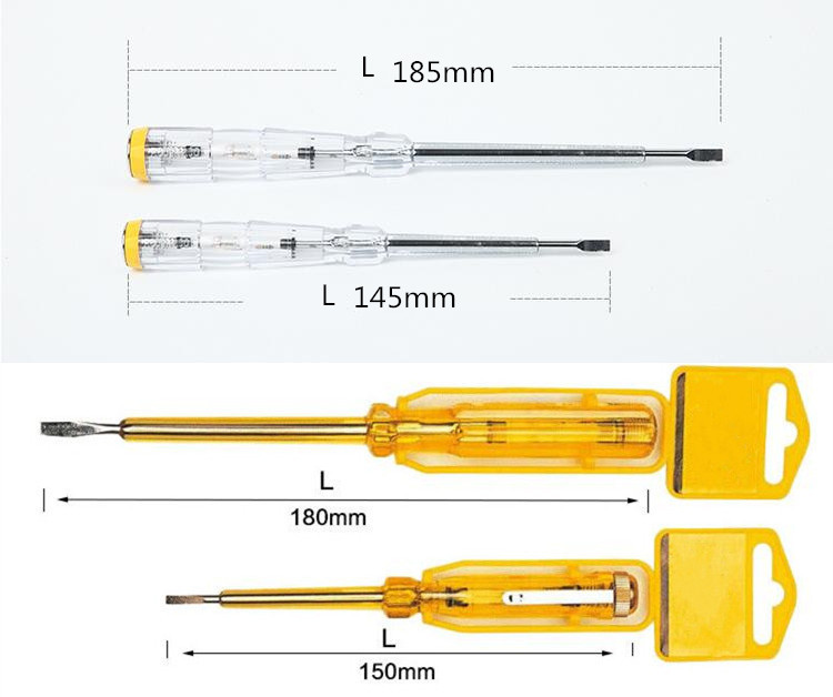 Multifunctional AC/DC Voltage Detector Screwdriver