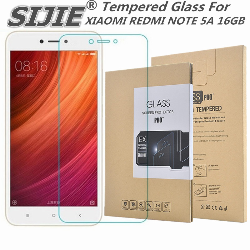 Tempered Glass For XIAOMI REDMI NOTE 5A 5.5 inch 2GB 16GB Screen protective cover smartphone case on toughened note5 5 A note5A