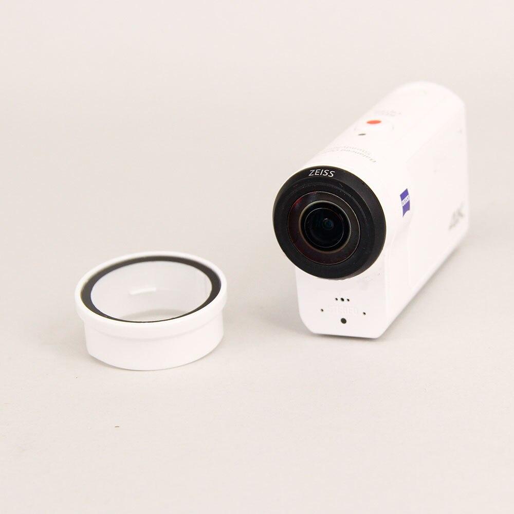 Lente cubierta protectora para Sony action cam AS300R X3000R HDR-AS300R FDR-X3000R UV tapa de lente