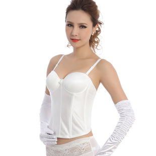 European Brocade steampunk white sexy corset Top gothic body shaper  plus size  fashion corset waist closing palace corset D2019