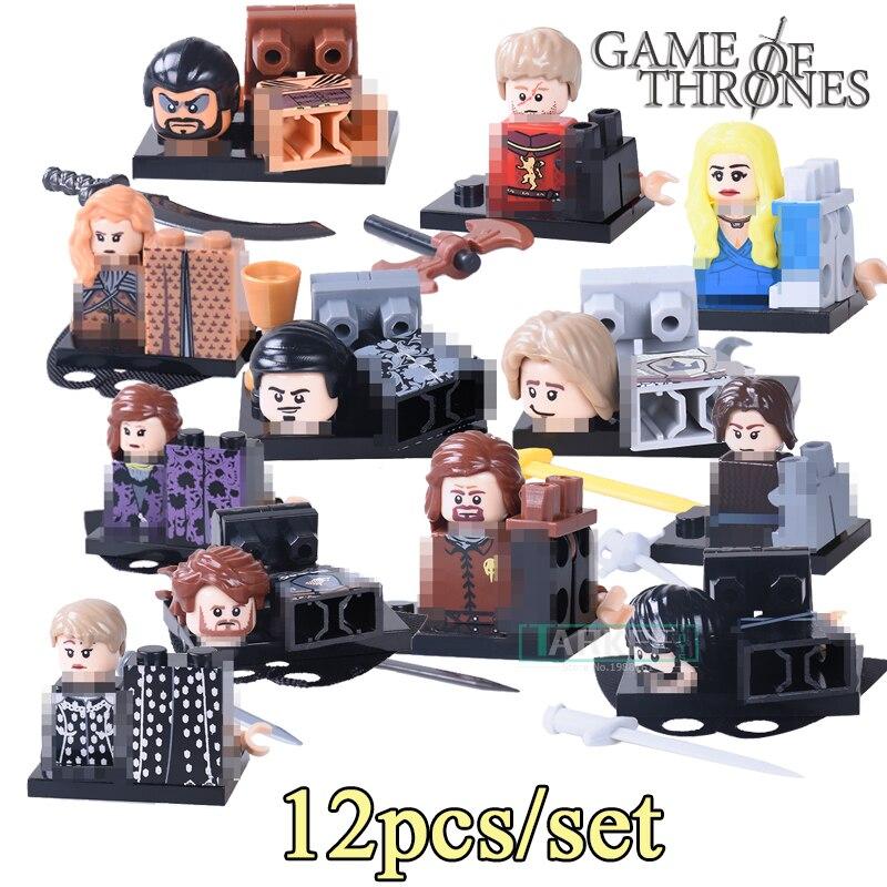 PG8072 Building Blocks Alicia Robb Stark petyr Baelish Super Hero Star Wars Game of Thrones Bricks Kids DIY Toys Hobbies Figures