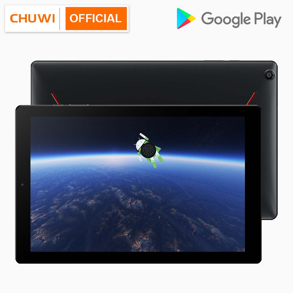 CHUWI Hipad 10.1 Pouces 1920*1200 Helio X27 Deca Core Android 8.0 Tablet 3 GB RAM 32 GB ROM 2.4G/5G WIFI Double Caméra Comprimés