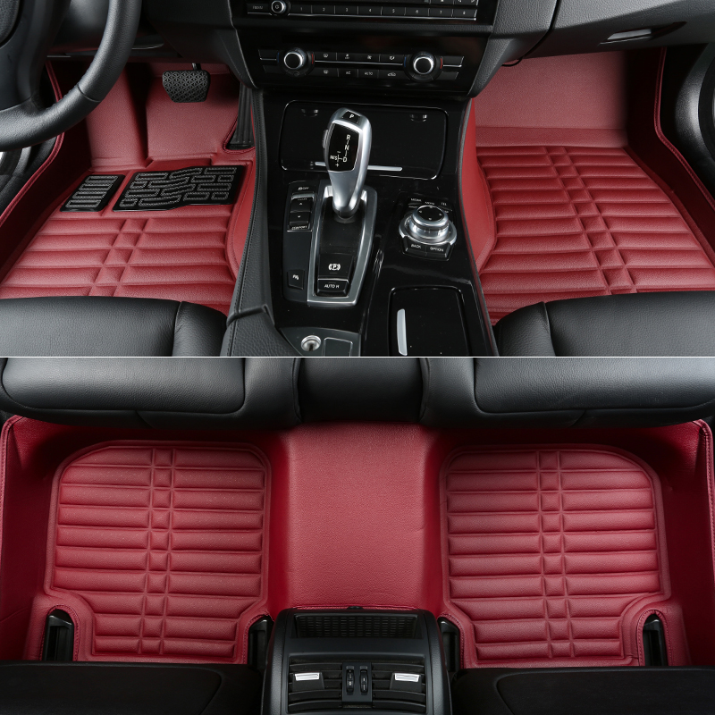 full surrounded special car floor mats for InfinitiQ70 wear-resisting durable waterproof Easy to clean non-slip carpets