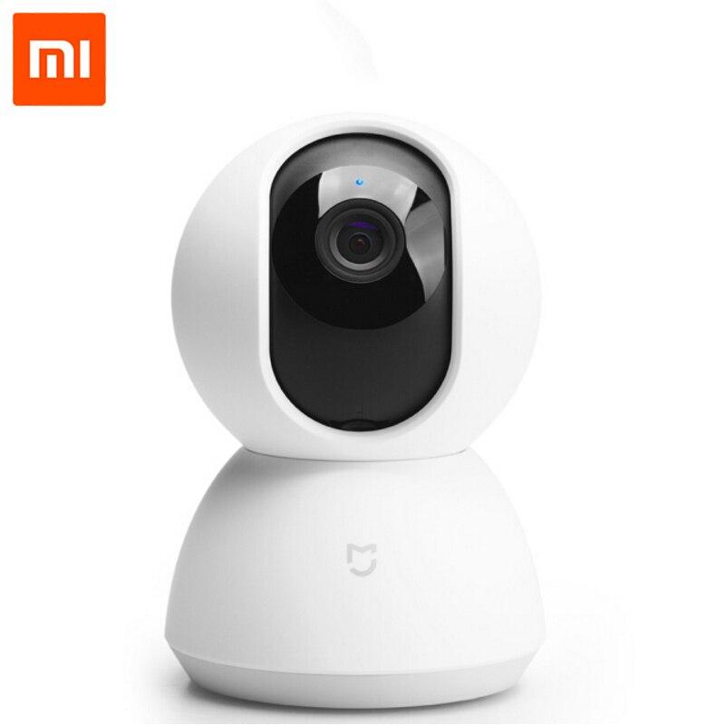 Original Xiaomi Mijia Smart Cam cabeza cuna versión 1080 p HD 360 grados de visión nocturna Webcam IP Cam videocámara para casa inteligente