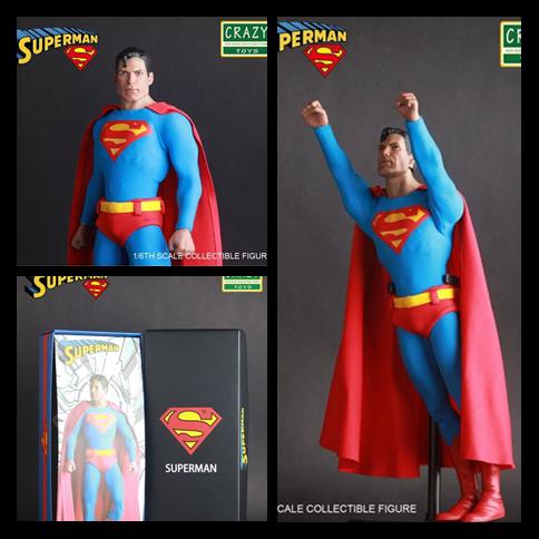 Crazy Toys Superman 1 6 th Scale Action Figure Collectible Figure 12 30cm