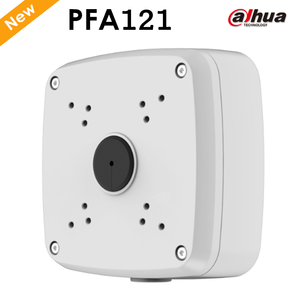 DAHUA Junction Box PFA121 CCTV Accessories IP Camera Brackets Camera Mount dahua pfa130 water proof junction box cctv accessories ip camera brackets pfa130