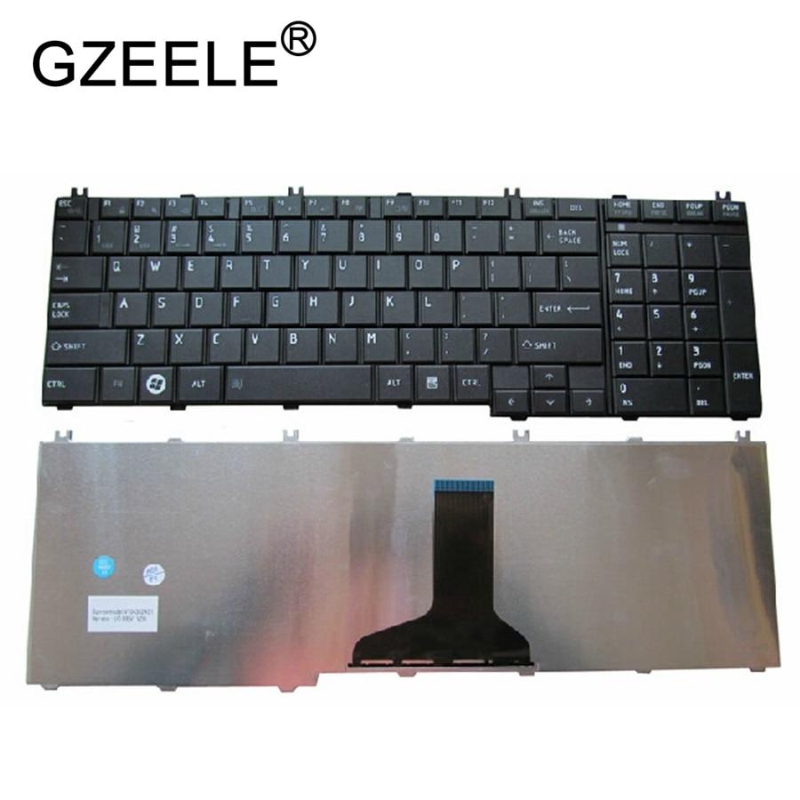Image 4 - GZEELE английский Клавиатура для ноутбука Toshiba Satellite L670 L670D L675 L675D C660 C660D C655 L655 L655D C650 C650D L650 C670 L750 L750D-in Замена клавиатуры from Компьютер и офис on