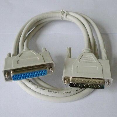Câble 10 M ILDA avec DB25 Femal à mâle pour scène Laser lumière PC contrôleur 10 mètres fil