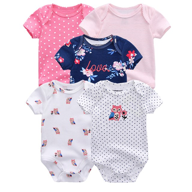 Kiddiezoom детские комбинезоны пижамы для маленьких девочек Дети Bebe Infantil одежда для новорожденных одежда из хлопка Одежда для маленьких мальчиков, Товары для детей - Цвет: baby romper 5071