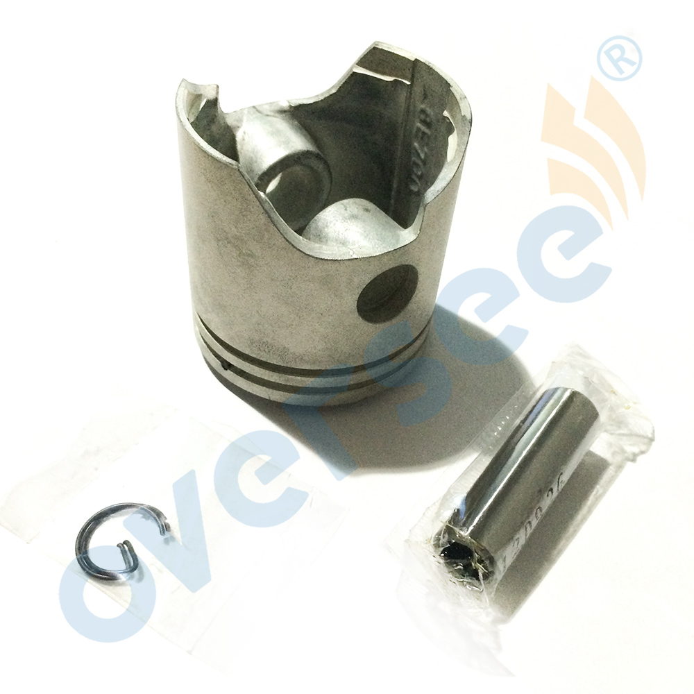 6E7-11631-00-97 Piston Set STD For Yamaha 15HP Outboard Engine Boat Motor Brand new aftermarket Part