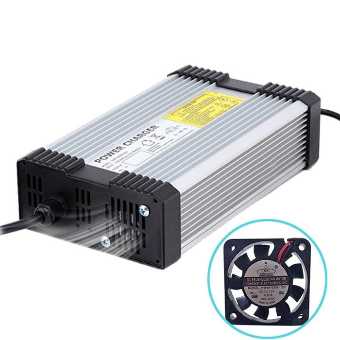 Yangtze Li-Ion Chargeur 84 V 5A 4A 3A pour 72 V Voiture Lithium Batterie Chargeur Batterie Voiture intelligente Li-ion polymère Ebike