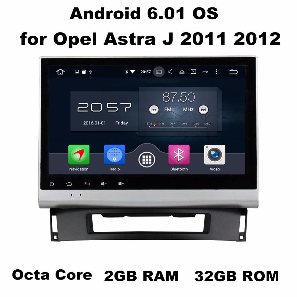 10.1&#8243; Android 6.0 Android 7.1 Car Radio GPS Multimedia Head Unit for <font><b>Opel</b></font> <font><b>Astra</b></font> <font><b>J</b></font> 2011 2012 With 2GB RAM <font><b>Bluetooth</b></font> 3G 4G WIFI