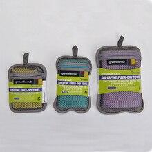 Три Цвета быстросохнущая путешествия полотенце из микрофибры Спорт пляжное полотенце для купания бренд четыре спецификации: тренажерный зал Полотенца TOUCHBeauty TB-5100