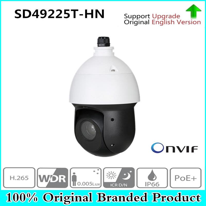 DH SD49225T-HN withoutlogo d'origine 2MP 25x Starlight IR PTZ Réseau IP Caméra Haute Vitesse Dôme IP Caméra Numérique Zoom Étanche