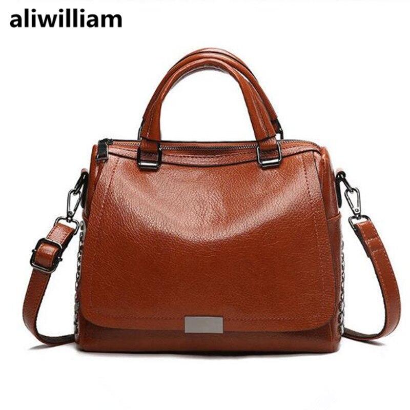 ALIWILLIAM Fashion Brand Handbags 2018 New Handbag Shoulder Bag Wild Fashion Handbag Messenger Smart Handbag Positioning Bags aliwilliam bag female 2017 autumn new