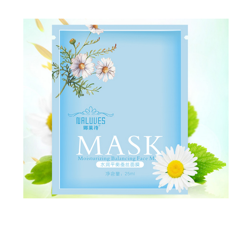 Hyaluronic Acid Essence Full Face Facial Mask Sheet  for Moisturizing Brightening and Whitening Skin Care Mask 30ml/ 1PCS