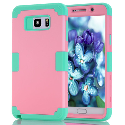 Shockproof Phone Case For Samsung Galaxy Note5 Case Durable PC+TPU 3 Layers Hybrid Full Body Protect Anti-Knock Phone Shell (15)