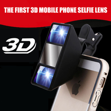 Mobile 3D Phone Lens Stereoscopic High Quality Smartphone for All models Video camera Accessories