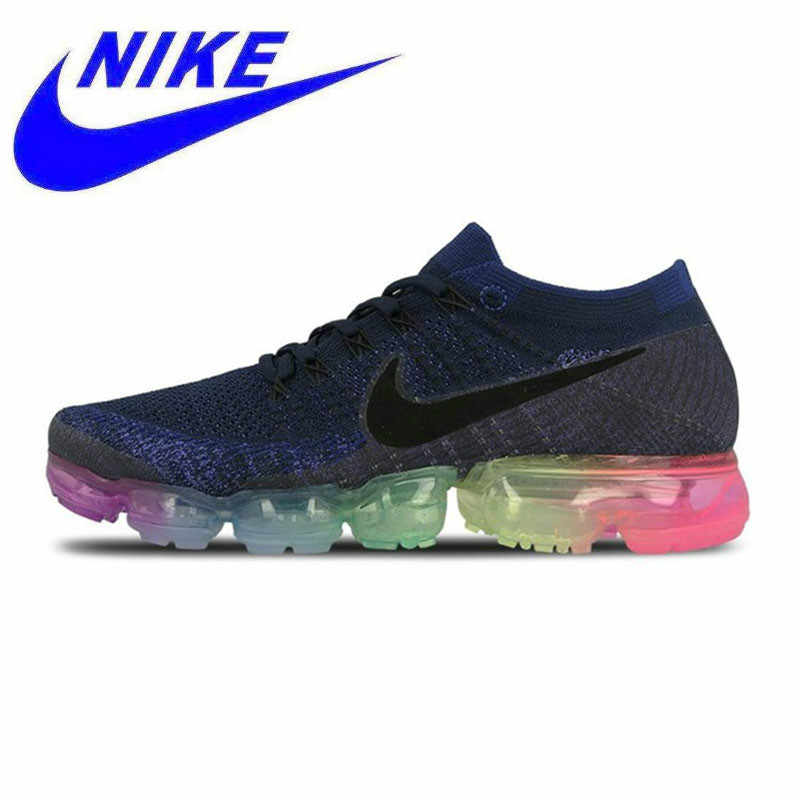 035bae3aec Official Nike Air VaporMax Be True Flyknit Breathable Original New Arrival  Men's Running Shoes Sports Sneakers