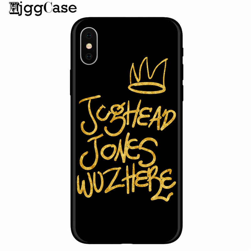 For iphone 7 American TV Riverdale Painted Phone Cover Case For iphone 8 7 6 6S Plus X XS MAX XR 5 5S SE TPU Soft Silicone Cases