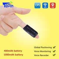 TOPIN S3 GPS Tracker ZX303 GSM AGPS Wifi LBS TF tarjeta S7 localizador alarma Web APP seguimiento grabadora de voz en tiempo Real ubicación SMS