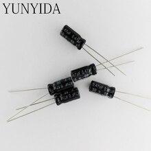 Aluminum electrolytic capacitor 50PCS  50v 0.47uf  1UF 2.2UF  3.3UF  4.7UF  10UF  22UF  33UF 47UF