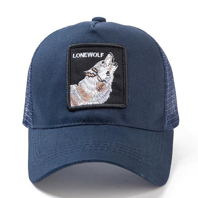 High Quality 12 Styles Animals Baseball Cap Cotton Breathable Mesh Snapback Caps Sun Hat For Women Men Bone Hip Hop Dad Hat 3