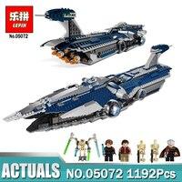 Lepin 1192Pcs Star War Series The Limited Edition Malevolence Warship Set Children Building Blocks Bricks Toys