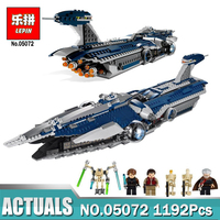Lepin 1192Pcs Star War Series The Limited Edition Malevolence Warship Set Children Building Blocks Bricks Toys