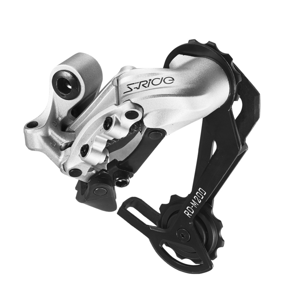 S-Ride Bicycle Rear Cage RD-R200 (Long Cage) 6/7/8 Speed Rear Derailleur MTB Bike Derailleur Compatible For Shimano