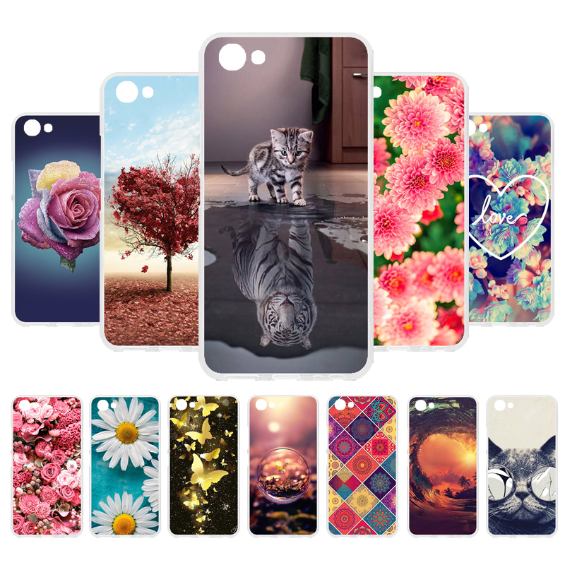 3D DIY For Vivo Y81 Case For Vivo Y81 Cases Back Cover For Vivo Y81 Silicone Patterned Case Fundas Coque Housing Shell Hood Bag