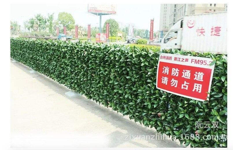 Siepi Da Giardino Finte : 10 pz allaperto siepi artificiali mats 40x60 cm pannelli di