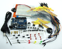 ASK 02 Electronic Project Starter Kit UNO R3 For Arduino Resistors Capacitor LED