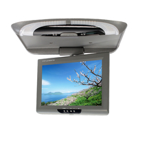 9 inch bus/car/taxi TFT LCD roof Mounting AV Monitor for DC 36V dual video inputs Gray color  SH981