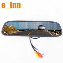 4.3 inch 2ch video input Color Rear View Rearview DVD Car Mirror Monitor