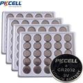 100 шт. батарейки PKCELL CR2032 3V литиевая батарея таблеточного типа батареи BR2032 DL2032 ECR2032 KL2032 15004L L14 SB-T51 Кнопка Батарея для часов - фото