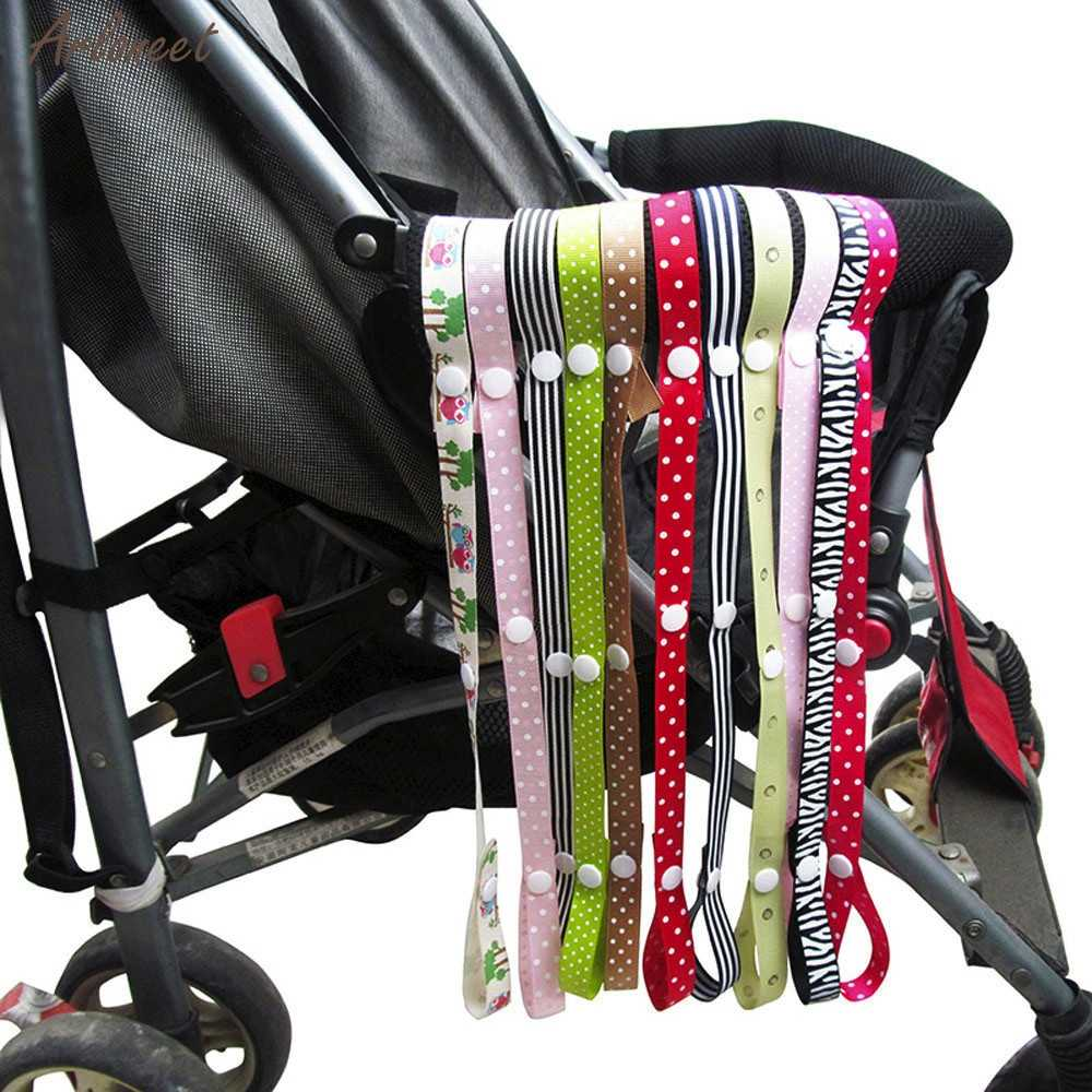 Baby Anti-Drop Hanger Belt Holder Toys Stroller Strap Fixed Car Pacifier Chain Baby Care Pacifier Chain Unisex New 2019