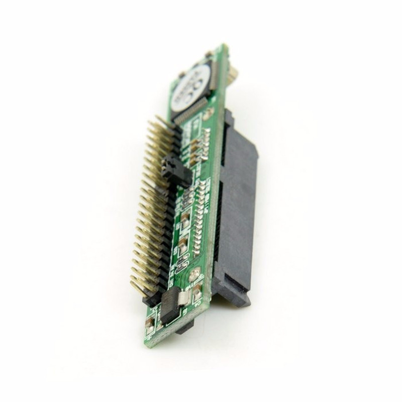 IDE 44Pin to SATA Female Adapter ide SATA IDE Adapter Converter PCBA for Laptop & 2.5 Hard Disk Drive sd memory card to ide 44 pin hard disk adapter creates a ssd solid state drive