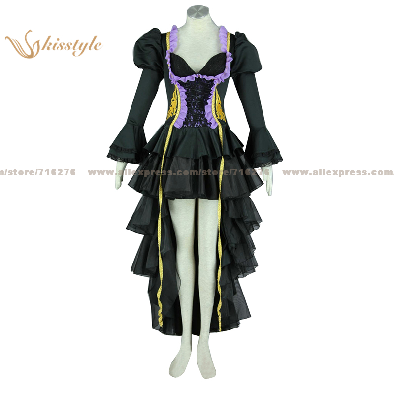 Kisstyle Fashion VOCALOID Hatsune Miku DRAGON Luxurious Uniform COS Clothing Cosplay Costume,Customized Accepted