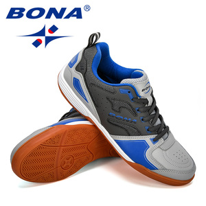 Image 4 - BONA 2019 New Designer Men Soccer Shoes Outdoor Training Football Boots Man Sport Sneakers Athletic Shoes Male Leather Comfortab