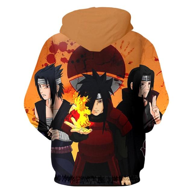 Naruto 3D Print Sweatshirt Hoodie